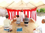 ●児島で地鎮祭