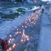 ●城東竹灯籠まつり・春 ~宮川河川敷~