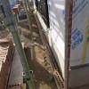 -煉瓦積み工事の開始-