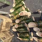 ●城東竹灯篭祭の準備